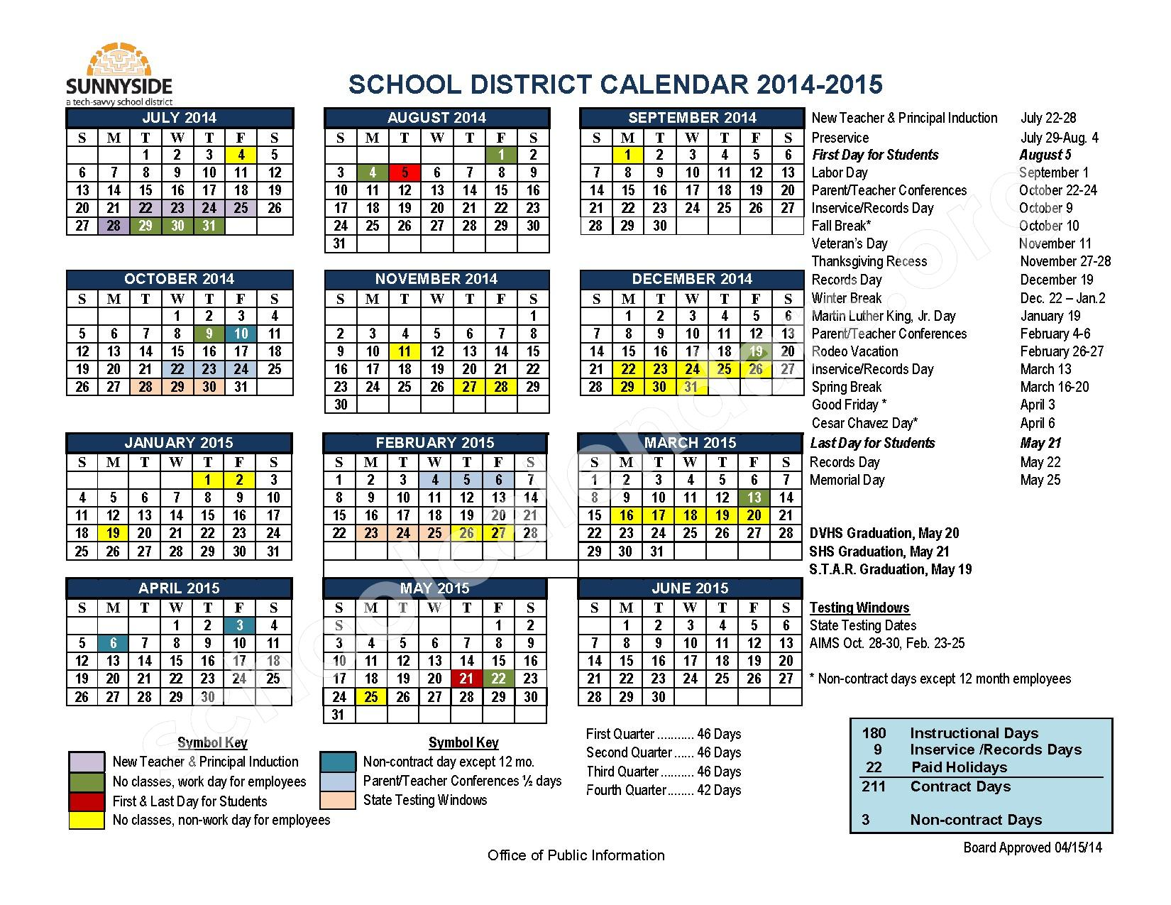 Susd Calendar 2022.S U S D S C H O O L D I S T R I C T C A L E N D A R Zonealarm Results