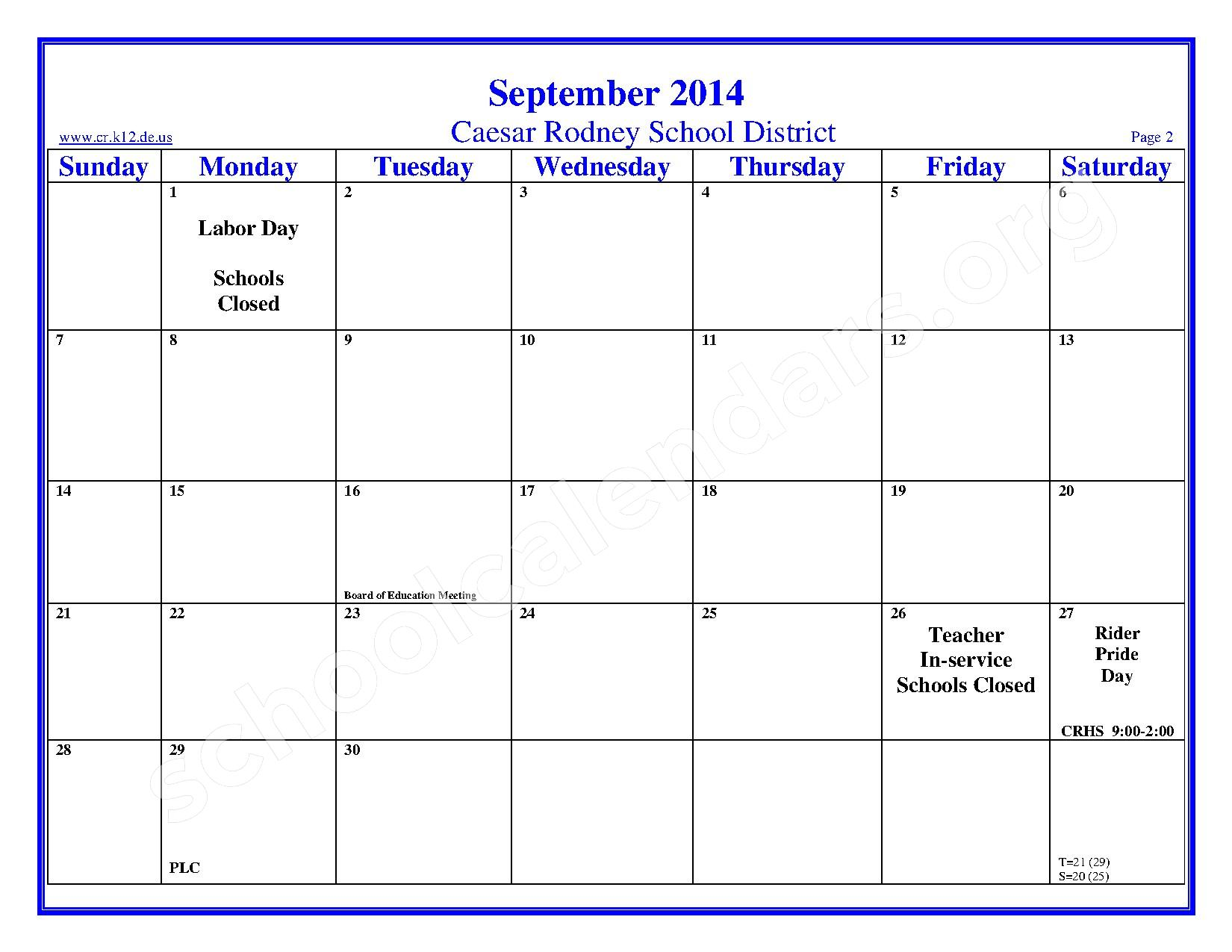No frills printable calendar 2014 autos post for 2 month calendar template 2014