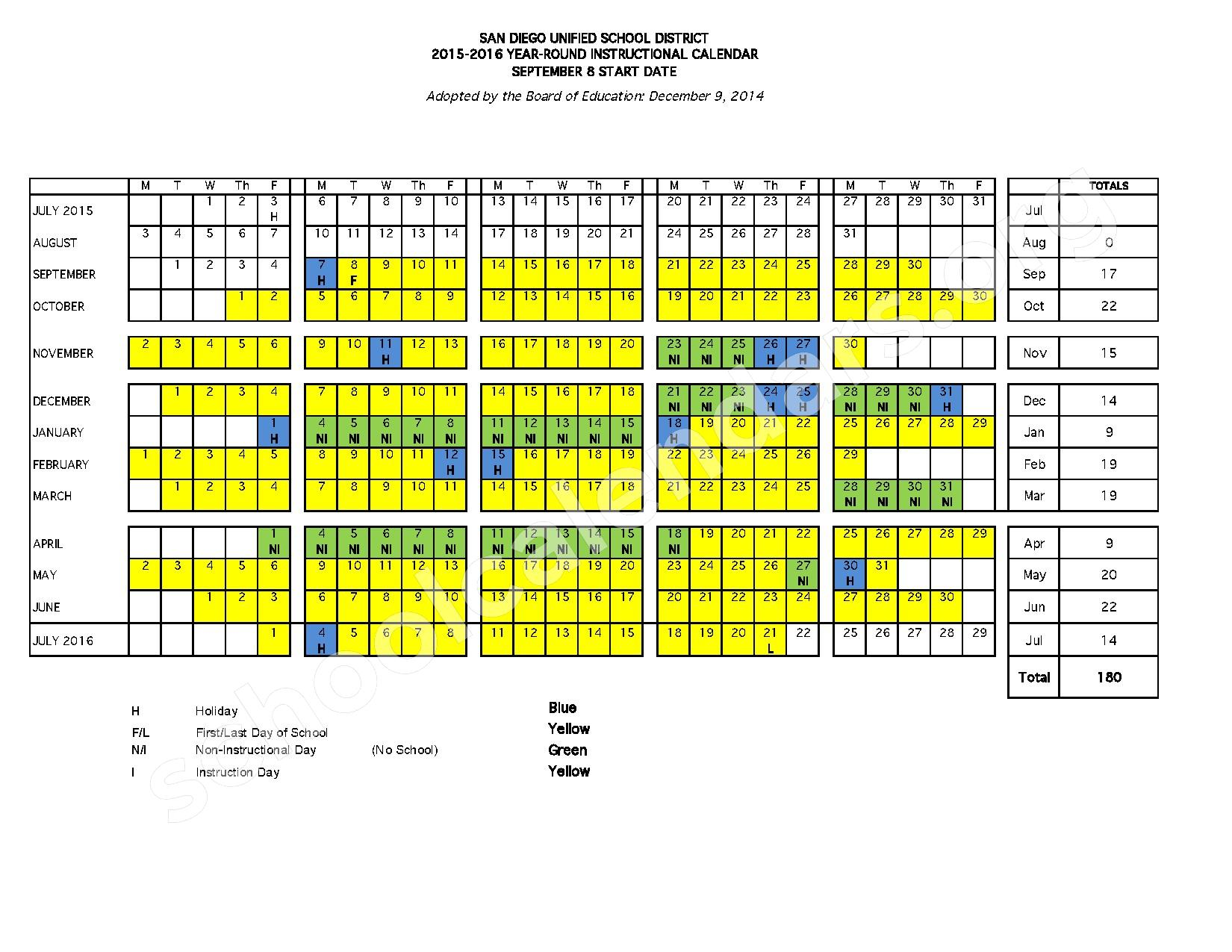 Year Round Calendar Durham Public Schools : Year round calendar birney elementary school