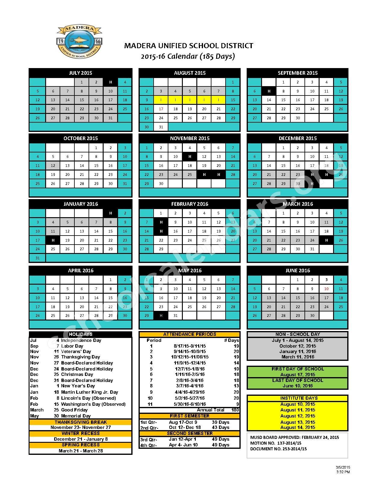 make your plans 2015 16 calendar is here jblog