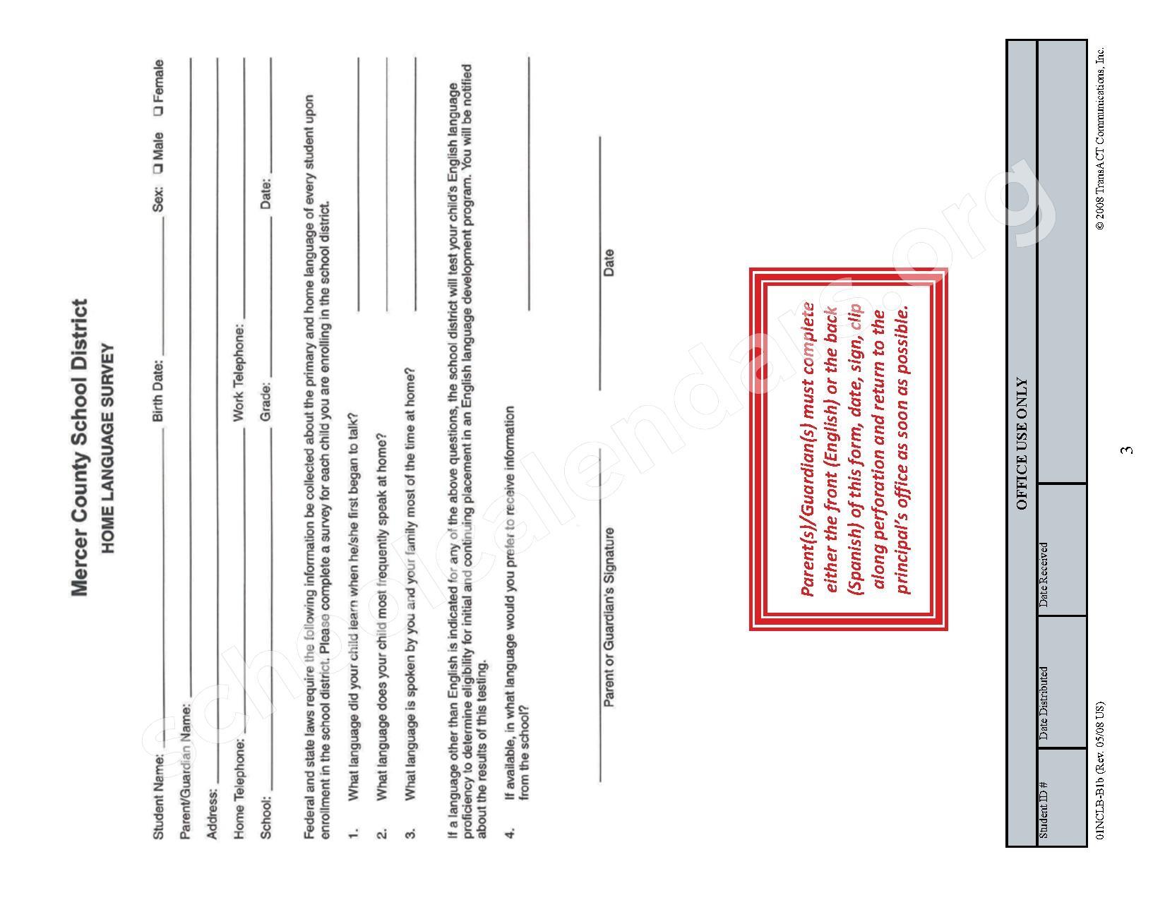 2015 - 2016 School Calendar – Mercer County Schools – page 36
