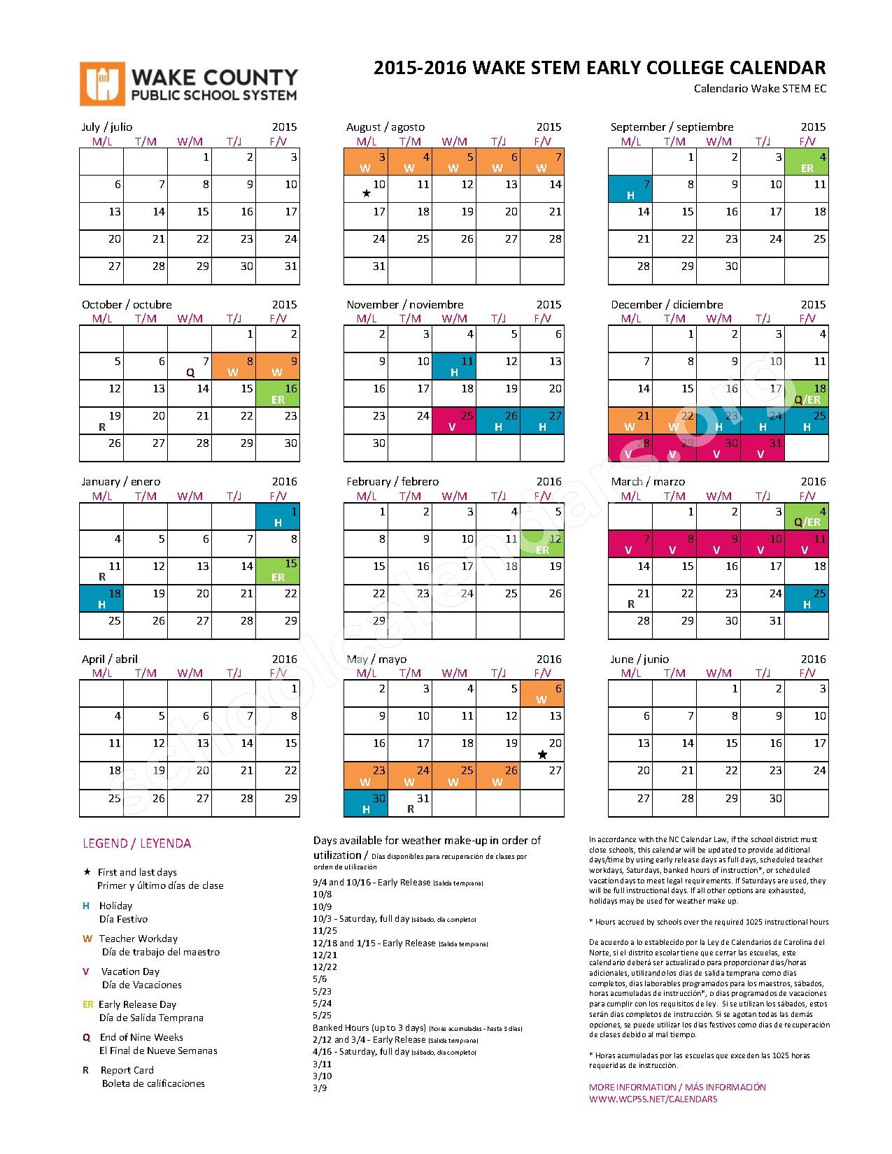 """Year Round Calendar Wake County : Search results for """"wake county year round calendar"""