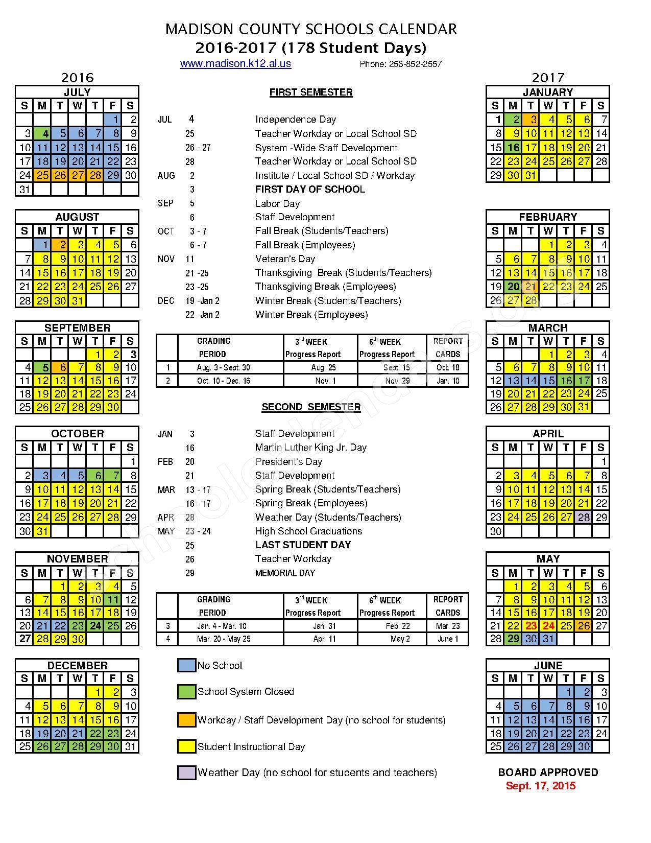 school calendar - kak2tak.tk