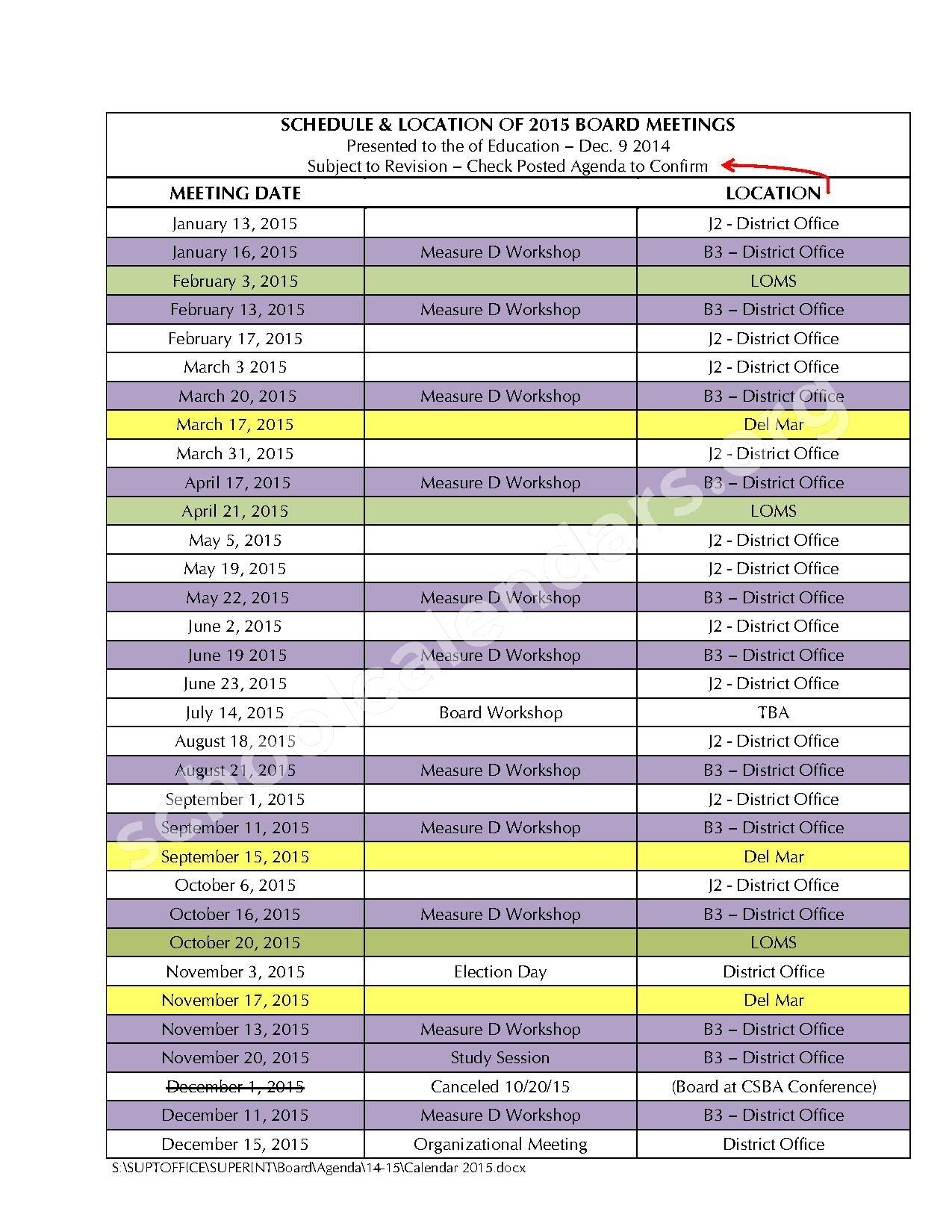 del mar 2015 meet dates