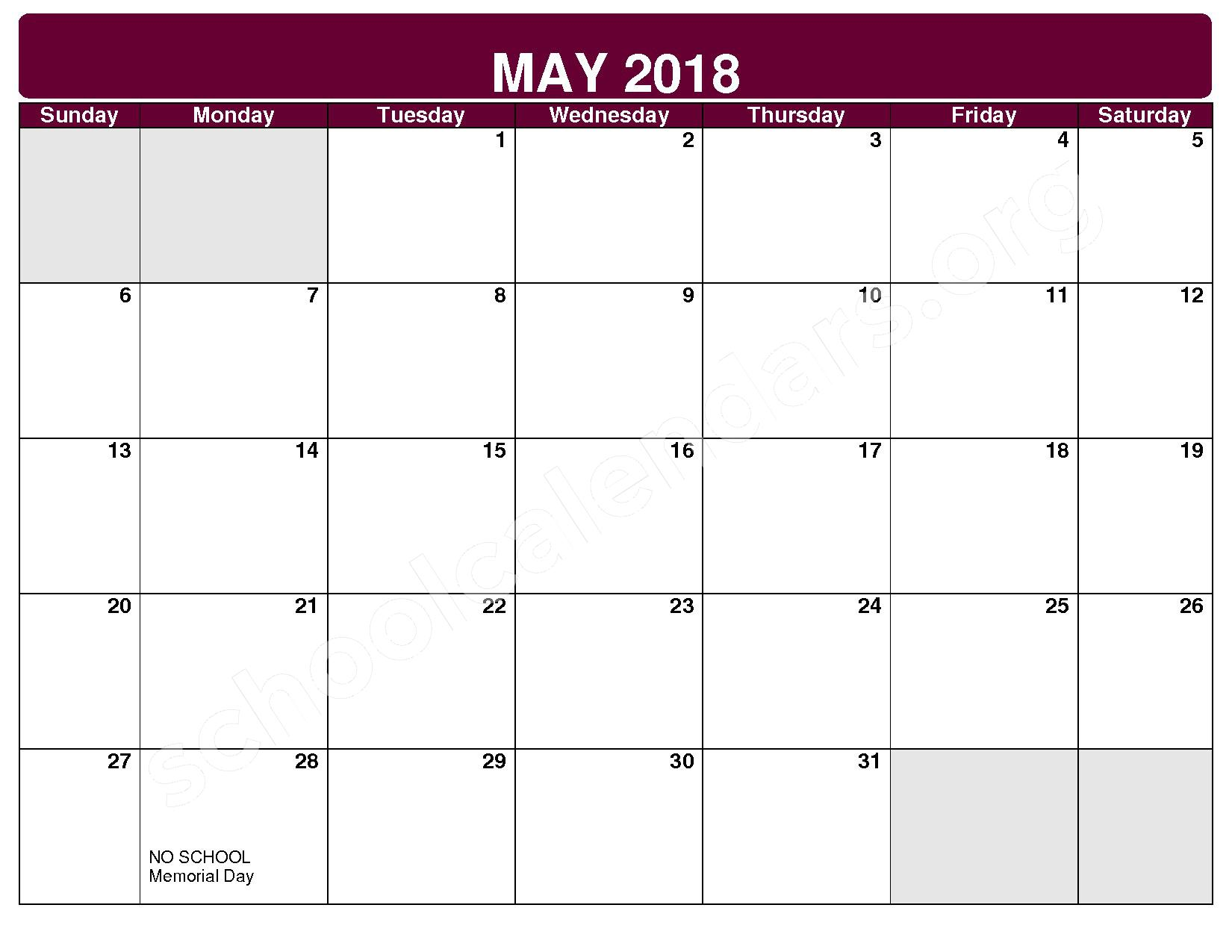 2017 - 2018 District Calendar – Maple Heights City Schools – page 10