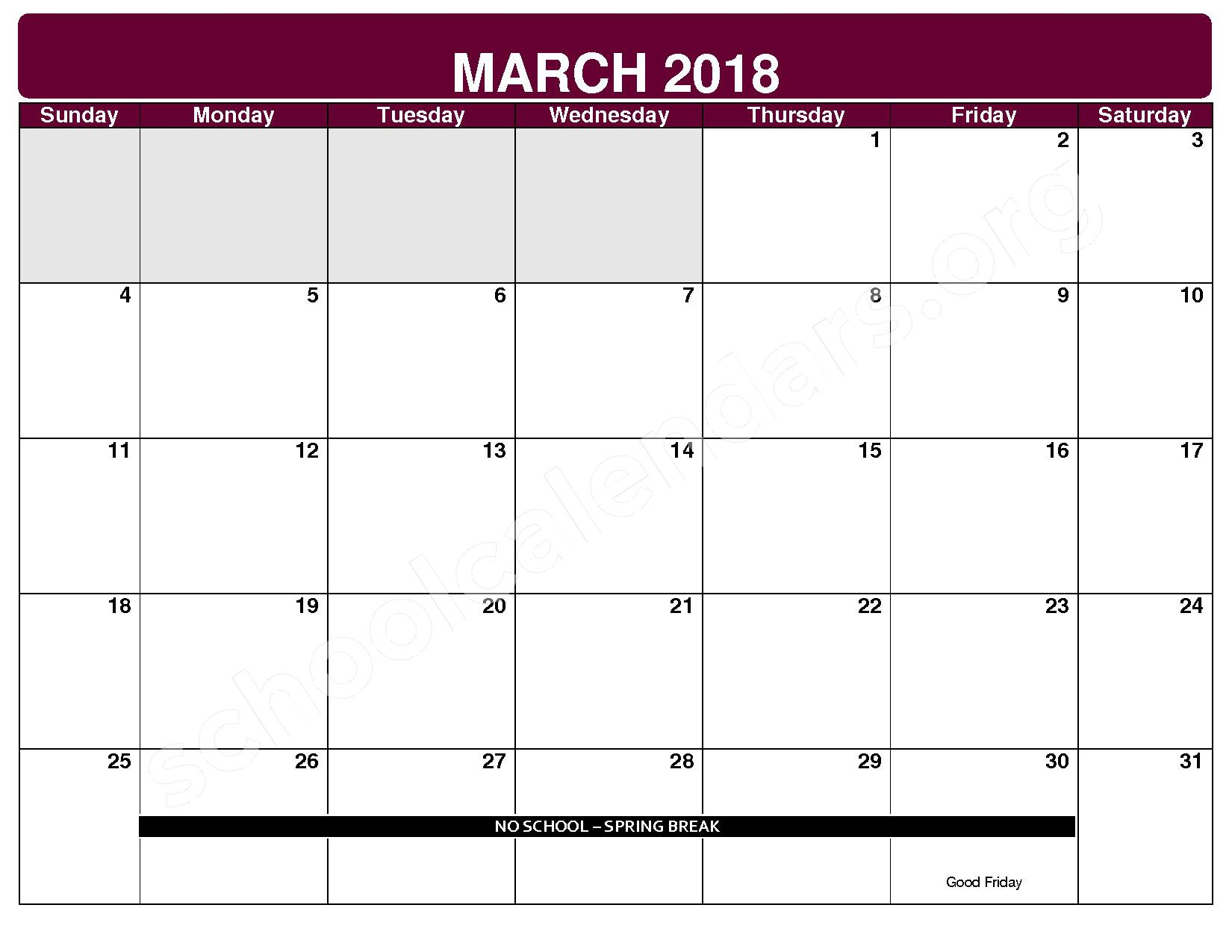 2017 - 2018 District Calendar – Maple Heights City Schools – page 8