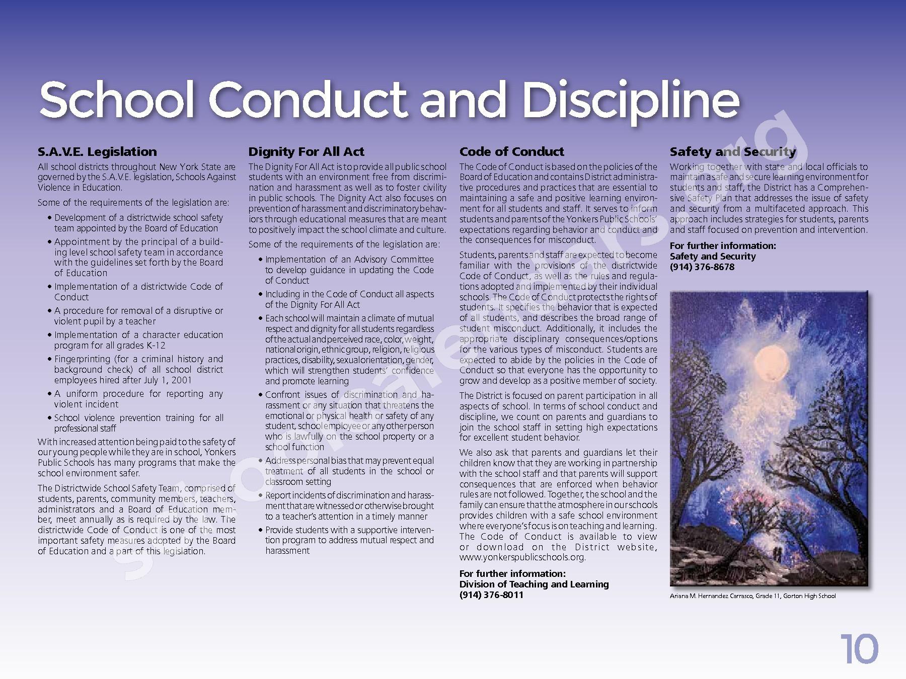2017 - 2018 District Calendar – Yonkers City School District – page 12