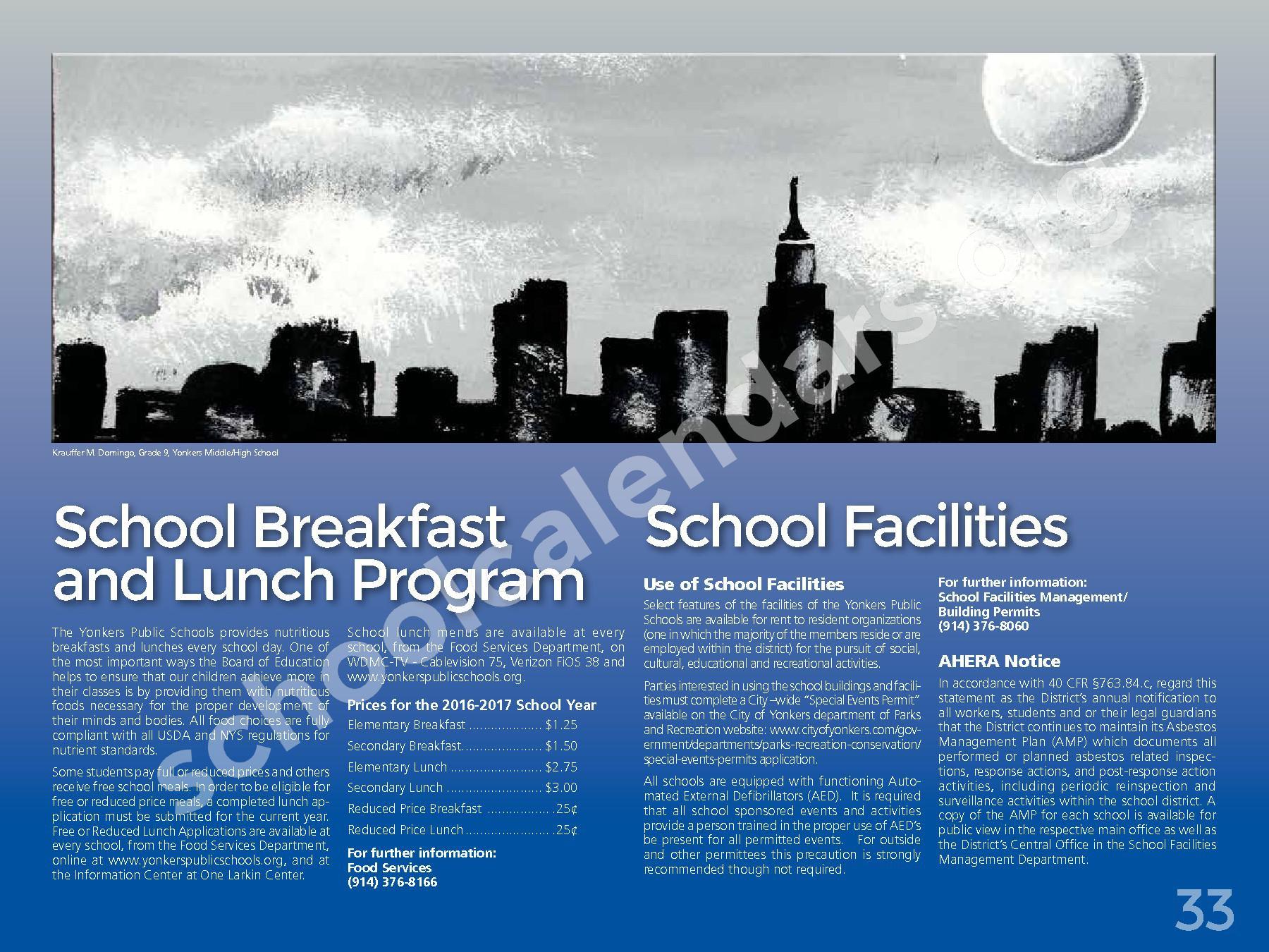 2017 - 2018 District Calendar – Yonkers City School District – page 35