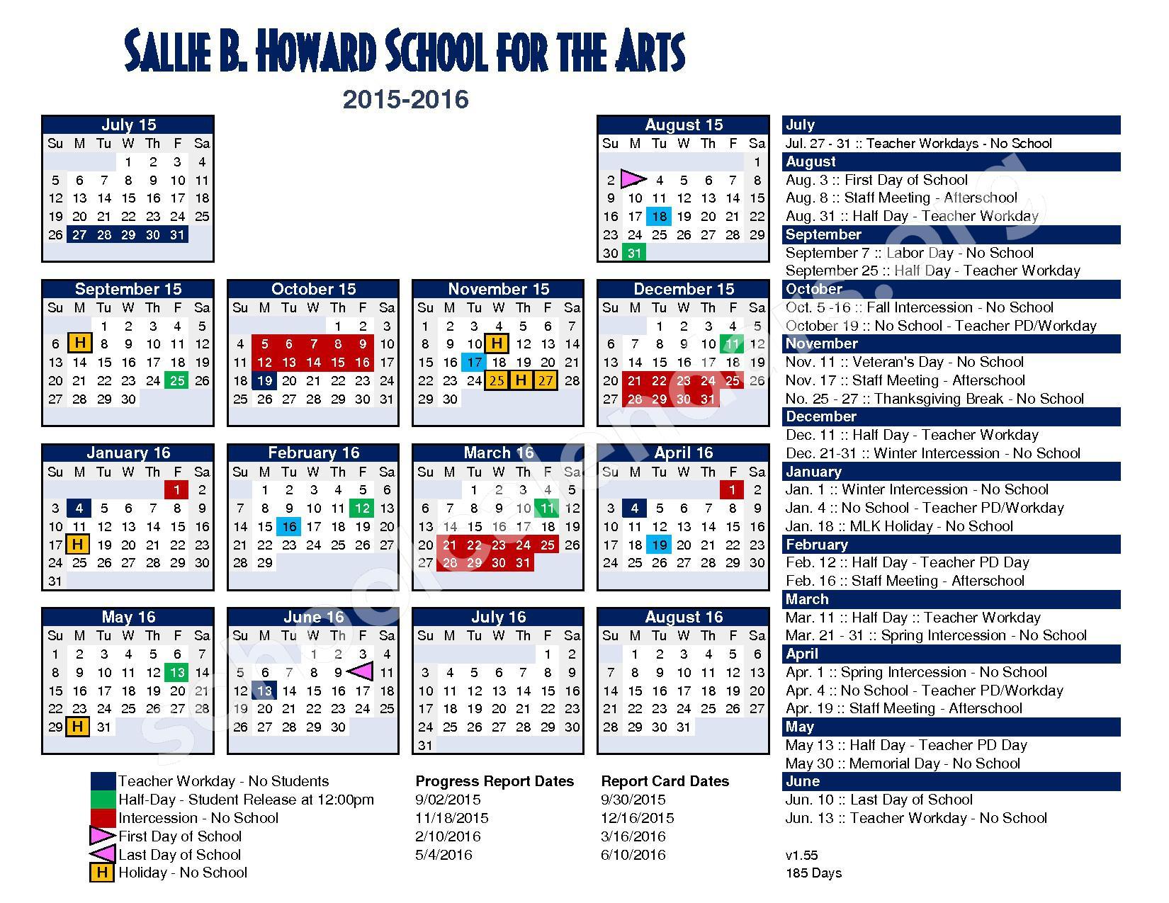 make calendar 2018