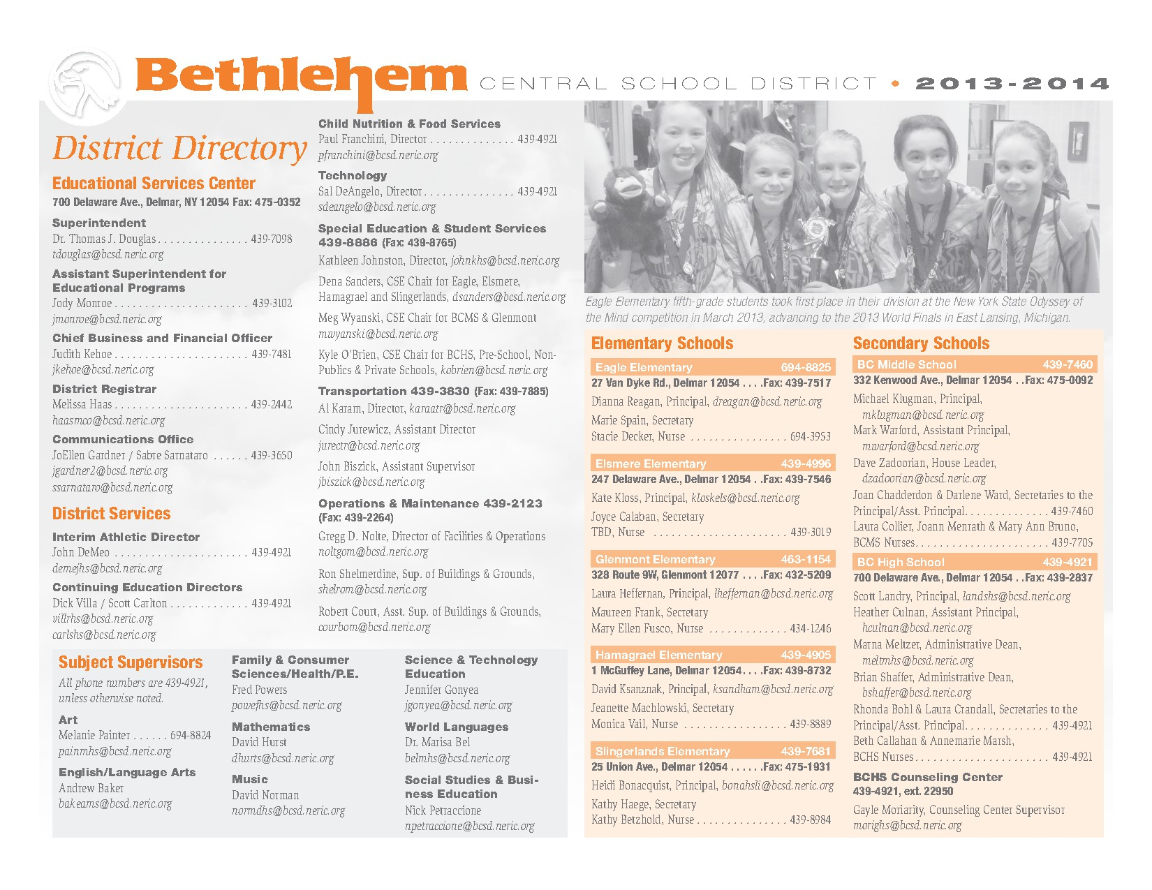 District Google Calendar – Bethlehem Central School District – page 15